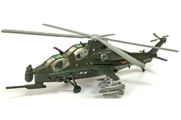 AIR FORCE1 1/100scale Z-10 armed helicopter (Size: 14.5 x 11 x 5cm)  [No.AF10134]