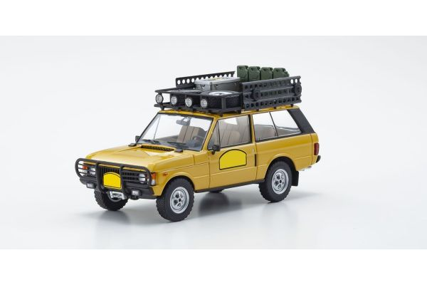 ALMOST REAL 1/43scale Range Rover Camel Trophy Papua New Guinea 1982 (Yellow)  [No.AL410106]