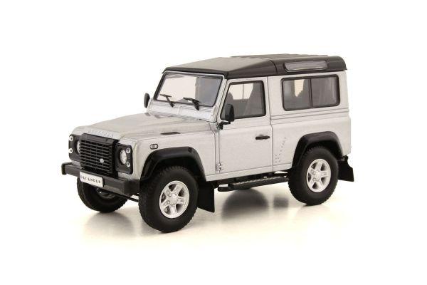 ALMOST REAL 1/43scale Land Rover Defender 90 (Silver)  [No.AL410207]