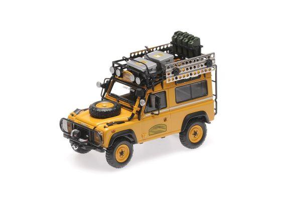 ALMOST REAL 1/43scale Land Rover Defender 90 Camel Trophy Borneo 1985 (Yellow)  [No.AL410211]