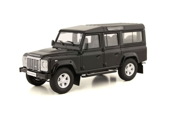 ALMOST REAL 1/43scale Land Rover Defender 110 (Black)  [No.AL410303]