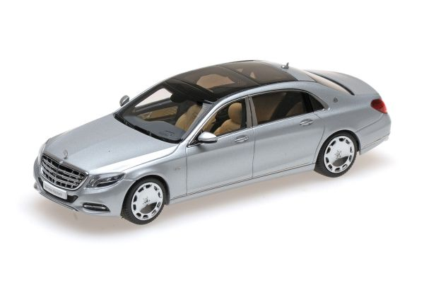 ALMOST REAL 1/43scale Mercedes Maybach S-Class 2016 Silver [No.AL420103]