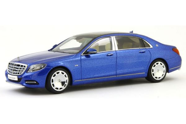 ALMOST REAL 1/43scale Mercedes Maybach S-Class 2016 Blue [No.AL420105]