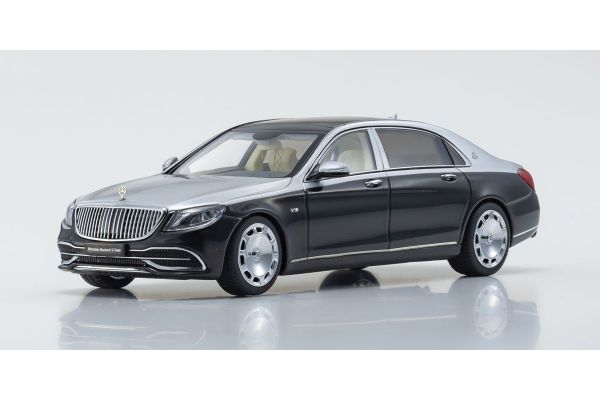ALMOST REAL 1/43scale Mercedes Maybach S Class 2019 (Obsidian Black / Iridium Silver)  [No.AL420106]