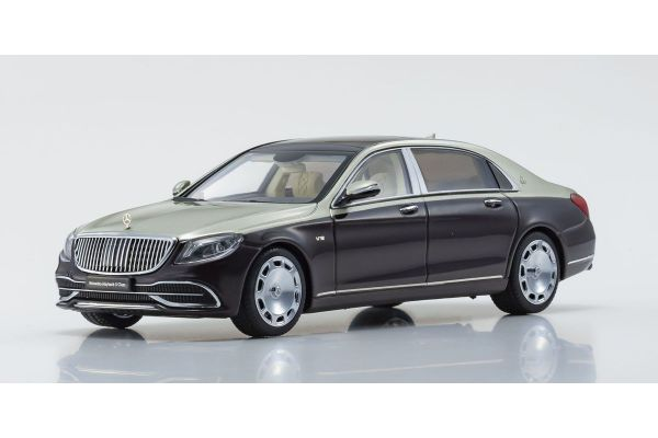 ALMOST REAL 1/43scale Mercedes Maybach S Class 2019 (Ruby Black / Aragonite Silver)  [No.AL420107]