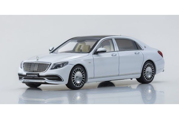 ALMOST REAL 1/43scale Mercedes Maybach S Class 2019 (Diamond White)  [No.AL420111]