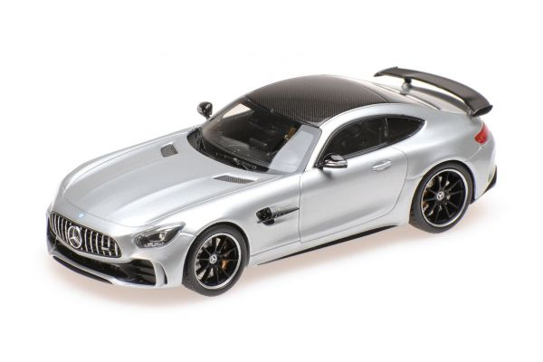ALMOST REAL 1/43scale MERCEDES-AMG GT R – SILVER  [No.AL420706]