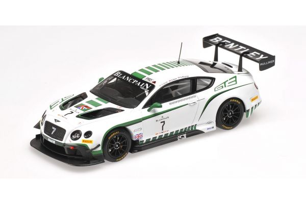 ALMOST REAL 1/43scale BENTLEY GT3 BLANCPAIN ENDURANCE SERIES NÜRBURGRING # 7  [No.AL430303]