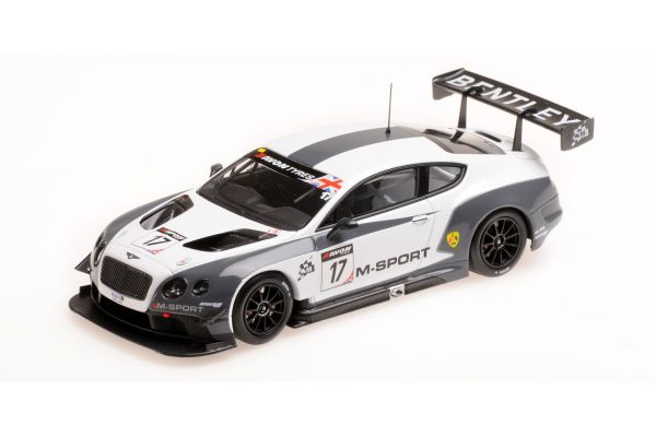 ALMOST REAL 1/43scale M SPORT BENTLEY GT3 BRITISH GT 2014 OULTON PARK #17  [No.AL430314]