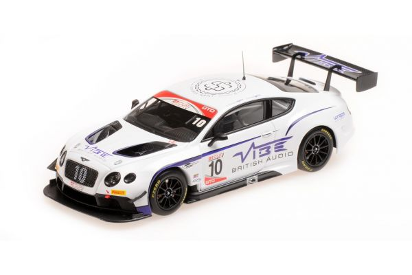 ALMOST REAL 1/43scale Bentley Continental GT3 Jordan Witt Racing No.10 2016 GT CUP Series Champion White/Purple  [No.AL430317]