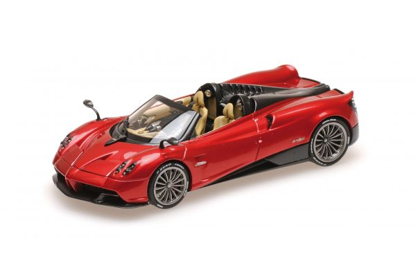 ALMOST REAL 1/43scale PAGANI HUAYRA ROADSTER – 2017 – RED METALLIC  [No.AL450301]