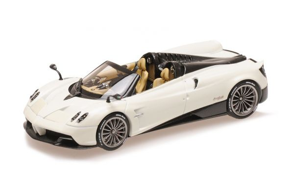 ALMOST REAL 1/43scale PAGANI HUAYRA ROADSTER – PEARL WHITE  [No.AL450302]