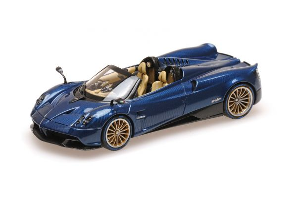 ALMOST REAL 1/43scale PAGANI HUAYRA ROADSTER – 2017 – CARBON BLUE  [No.AL450303]