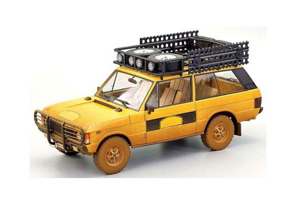 ALMOST REAL 1/18scale Range Rover Camel Trophy Sumatra 1981 Dirty Version (Yellow)  [No.AL810111]