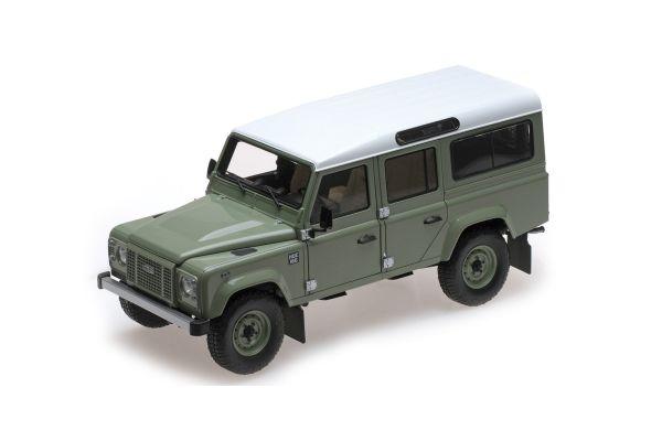 ALMOST REAL 1/18scale Land Rover Defender 110 Heritage Edition Green  [No.AL810307]