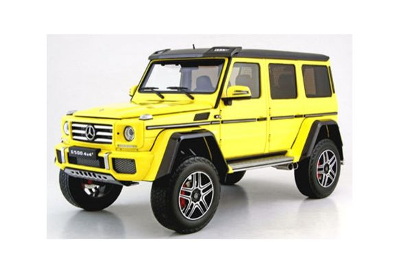 ALMOST REAL 1/18scale Mercedes Benz G500 4 x 4 2 (electric beam yellow)  [No.AL820201]