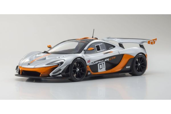 ALMOST REAL 1/18scale MCLAREN P1 GTR DESIGN CONCEPT – 2015 Silver / Black  [No.AL840101]