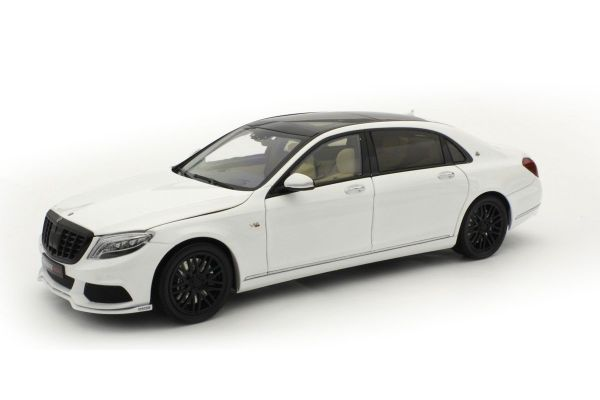 ALMOST REAL 1/18scale Brabus 900 Mercedes Maybach S Class White  [No.AL860101]