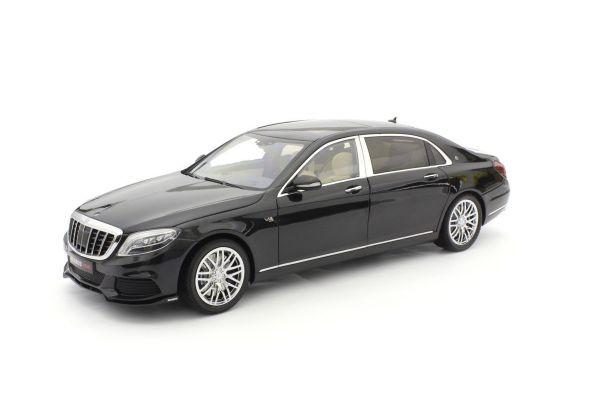 ALMOST REAL 1/18scale Brabus 900 Mercedes Maybach S class black  [No.AL860102]