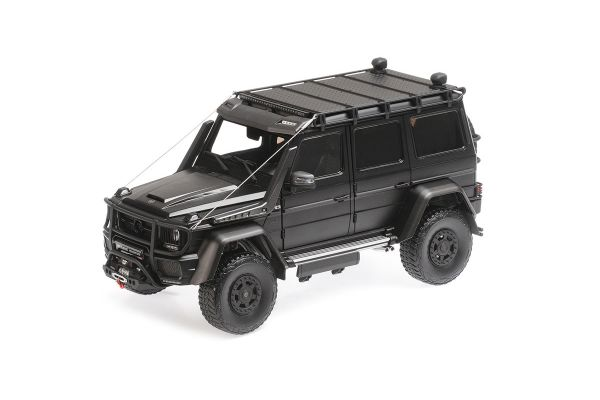 ALMOST REAL 1/18scale Brabus 550 Adventure Mercedes Benz G500 4x4² Matt Black  [No.AL860302]