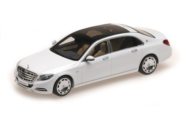 ALMOST REAL 1/43scale Mercedes Maybach S Class 2016 White  [No.AL420102]