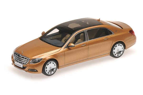 ALMOST REAL 1/43scale Mercedes Maybach S-Class 2016 Gold [No.AL420104]