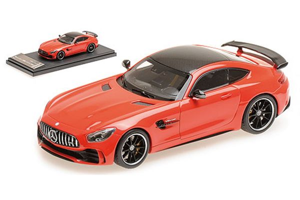 ALMOST REAL 1/43scale MERCEDES-AMG GT R – RED  [No.AL420708]