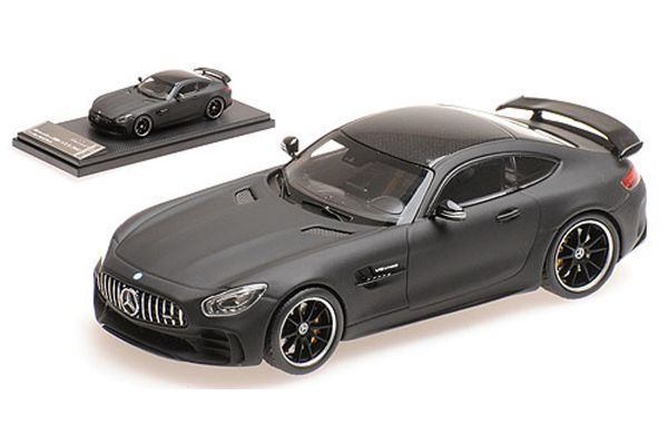 ALMOST REAL 1/43scale Mercedes-AMG GT R Matte Black  [No.AL420710]