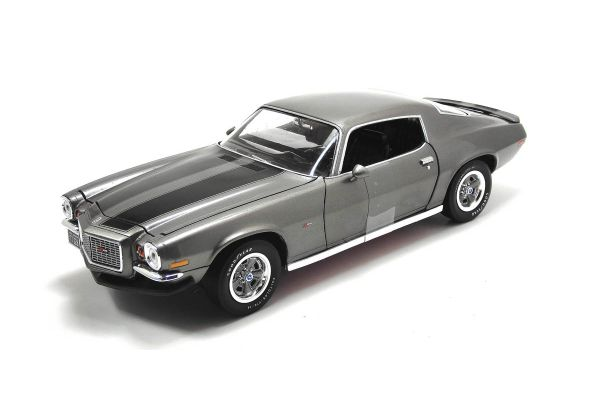 AMERICAN MUSCLE 1/18scale 1970 Chevy Camaro Z/28 Gray/Black [No.AMM1044]