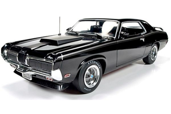 AMERICAN MUSCLE 1/18scale 1970 Mercury Cougar Eliminator (Black)  [No.AMM1071]