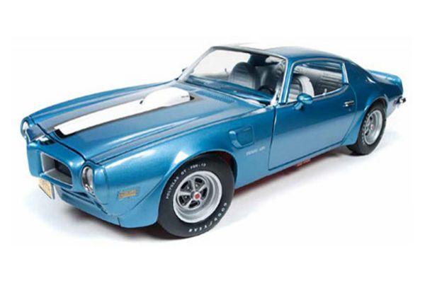 AMERICAN MUSCLE 1/18scale 1972 Pontiac Firebird Trans Am Adriatic Blue  [No.AMM1076]