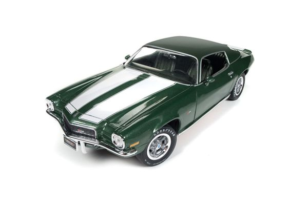 AMERICAN MUSCLE 1/18scale 1970 Chevy Camaro Z28 50th Anniversary Forest Green  [No.AMM1095]