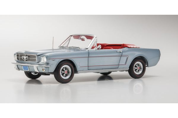 AMERICAN MUSCLE 1/18scale 1965 Ford Mustang Convertible SS Gray  [No.AMM1103]