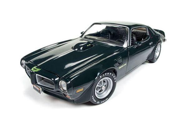 AMERICAN MUSCLE 1/18scale 1973 Pontiac Firebird Trans Am MCACN Blue Star Green  [No.AMM1109]