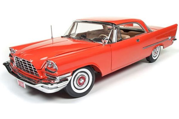AMERICAN MUSCLE 1/18scale 1957 Chrysler 300C Hard Top 60th Anniversary Gauguin Red  [No.AMM1110]