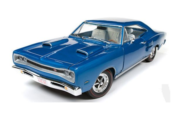 AMERICAN MUSCLE 1/18scale 1969 Dodge Coronet R/T Hardtop (50th Anniversary)  (B5 Blue)  [No.AMM1116]