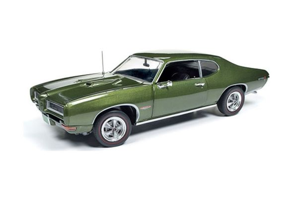 AMERICAN MUSCLE 1/18scale 1968 Pontiac GTO Hardtop 50th Anniversary (Green)  [No.AMM1128]