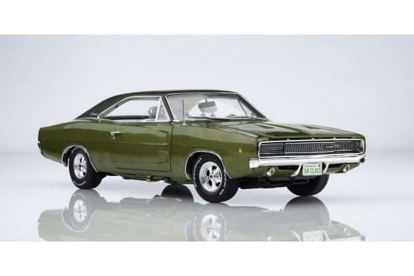 AMERICAN MUSCLE 1/18scale 1968 Dodge Charger R / T Class of 68 (50 th Anniversary) Media Green  [No.AMM1140]