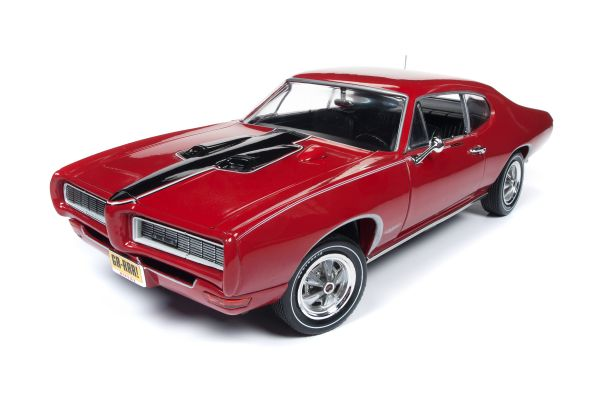 American Muscle 1/18scale  1968 Pontiac GTO Royal Bobcat (Class of 68) (50th Anniversary) Code R Solar Red  [No.AMM1153]