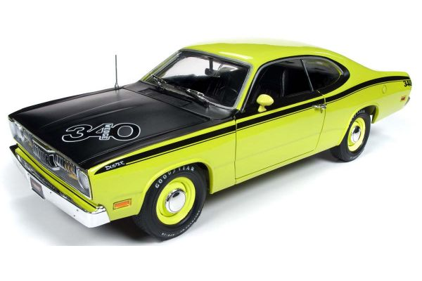 AMERICAN MUSCLE 1/18scale 1971 Prims Duster Hardtop (MCACN) GY3 Curious Yellow  [No.AMM1154]