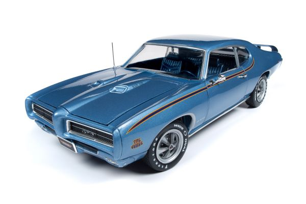 AMERICAN MUSCLE 1/18scale 1969 Pontiac GTO Judge (MCACN) Warwick Blue  [No.AMM1171]