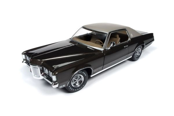 AMERICAN MUSCLE 1/18scale 1969 Pontiac Grand Prix SJ (MCACN) (Espresso Brown)  [No.AMM1175]