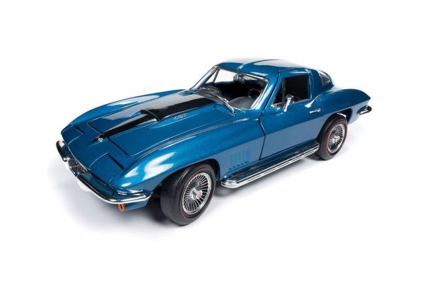 AMERICAN MUSCLE 1/18scale 1967 Chevrolet Corvette Coupe (MCACN) (Marine blue)  [No.AMM1176]