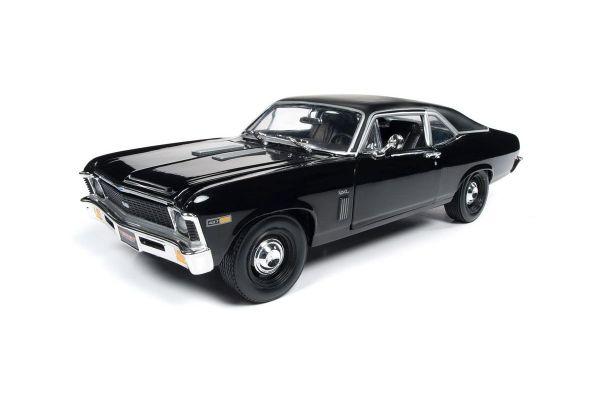 AMERICAN MUSCLE 1/18scale 1969 Chevrolet Yenko Nova (Class of 69-MCACN) Gross & Flat Black  [No.AMM1178]