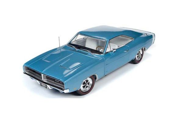AMERICAN MUSCLE 1/18scale 1969 Dodge Charger R/T Hardtop(MCACN) B3 Light blue  [No.AMM1200]