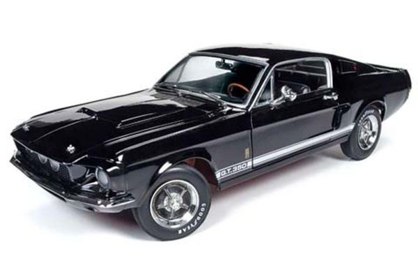 AMERICAN MUSCLE 1/18scale 1967 Shelby Mustang GT-350 MCACN Black  [No.AMM1202]