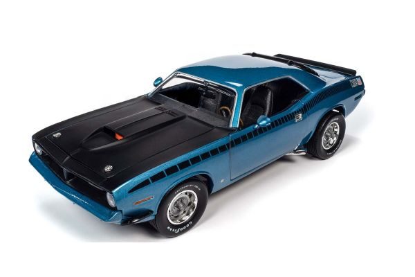 AMERICAN MUSCLE 1/18scale 1970 Plymouth AAR Couda 340 6-Pack Blue Fire  [No.AMM1225]