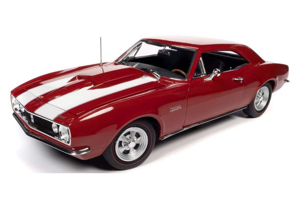 AMERICAN MUSCLE 1/18scale 1967 Chevy Camaro Z28 Nicky Bolero Red  [No.AMM1228]