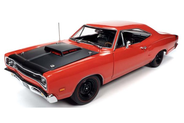AMERICAN MUSCLE 1/18scale 1969 Dodge Road Runner Super Bee Red  [No.AMM1231]