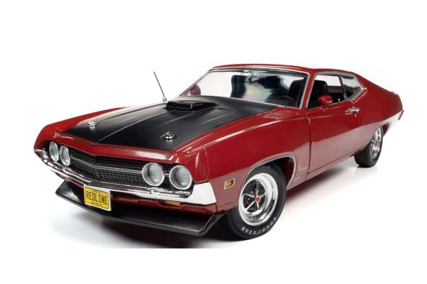 AMERICAN MUSCLE 1/18scale 1970 Ford Torino Cobra Red  [No.AMM1234]